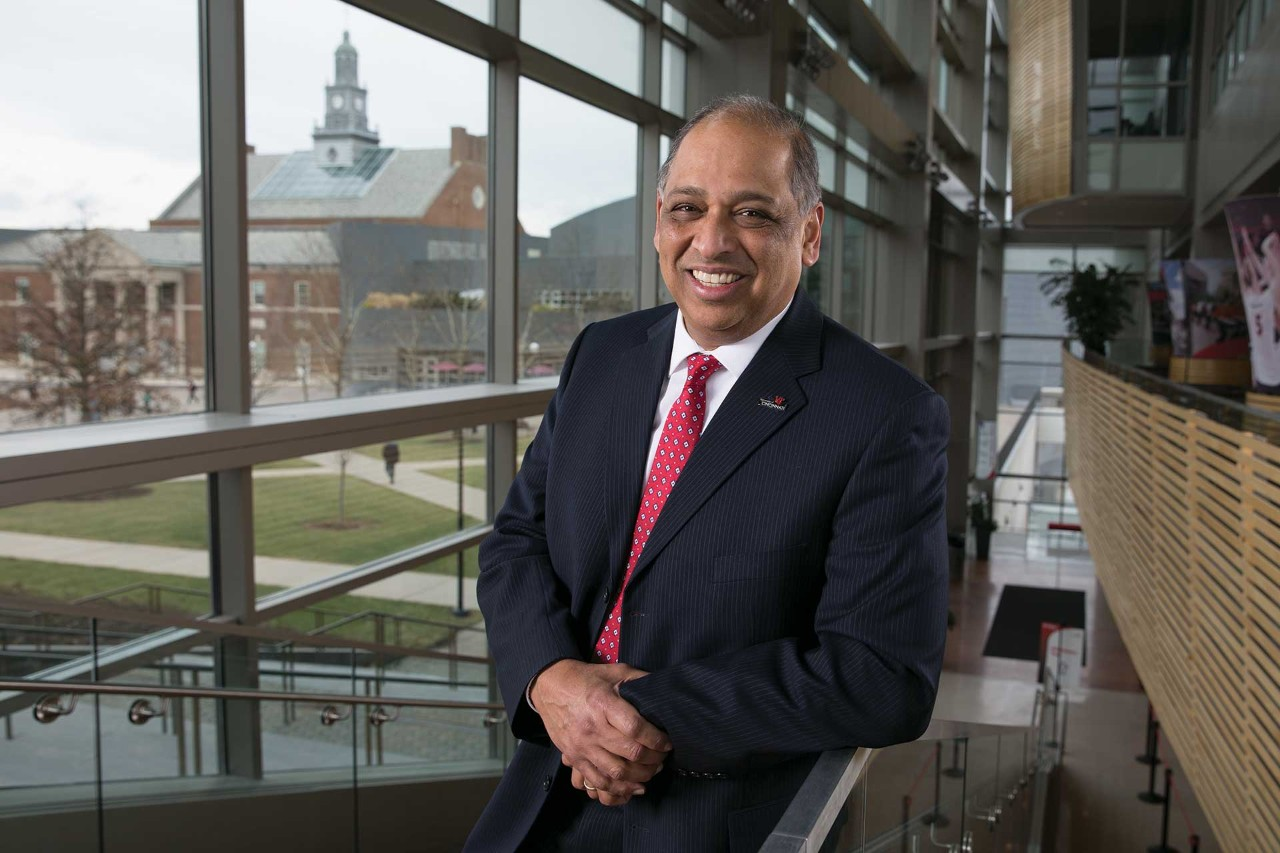 University of Cincinnati President Neville Pinto